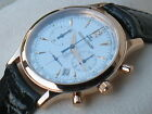 RARE JAEGER LECOULTRE Master Control Chronograph Men's Watch 18K Rose Pink Gold