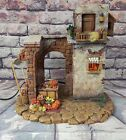 Fontanini THE MARKETPLACE 50255 Village Nativity 5 Collection w Box TESTED