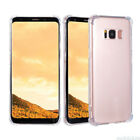 For Samsung Galaxy Note 8 S7 Edge Clear Back Protector Premium casse Cover