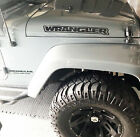 Jeep Wrangler Hood Outline 2 Stickers Vinyl Decals Jk Tj Yj Cj Pair