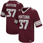 Colosseum Montana Grizzlies Maroon Hail Mary II Football Jersey College
