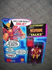 WOLVERINE action figure 1991 TOY BIZ MIP with 2 new replacement batteries