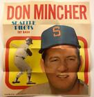 1970 Topps Poster #17 * DON MINCHER * Seattle Pilots Twins NEAR-MINT to MINT