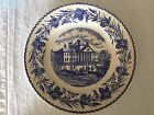 Wedgwood Massachusetts General Hospital Plate for Shreve Crump Low 10.25