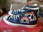CONVERSE CHUCK TAYLOR ALL STAR 70 1ST PRIDE PARADE HIGH TOP UNISEX SHOE Blue