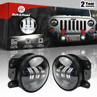 4 Inch 30W CREE LED Fog Lamps passing Light 07 17 Jeep Wrangler JK CJ TJ Pair