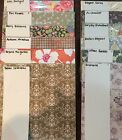 Stampin Up DESIGNERS SERIES PAPER RETIRED NIP Great Selection