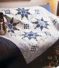 RADIANT BLUE Quilt Pattern Strip Piecing Multiple Sizes from Magazine