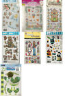 Rub On Transfers 7 Packages Tulip Plaid Royal Langnickel Christmas Variety New