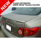 Toyota Corolla 09 10 Trunk Rear Spoiler Painted CLASSIC SILVER METALLIC 1F7