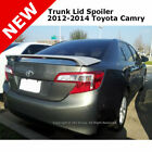 Toyota Camry 4 Dr 4Dr 12 14 Trunk Spoiler Rear Painted CLASSIC SILVER MET 1F7