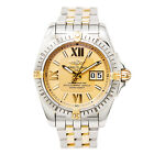 BREITLING WINDRIDER B49350 MEN'S AUTOMATIC WATCH YELLOW DIAL BOX