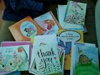 Lot of over 50 Greeting Cards Birthday Thank You Sympathy