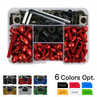 Complete Fairing Bolts Screw Kit for Honda CB1000R 1100 300F 500F 500X 600F 900F