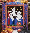 GHOSTS ON POSTS Wall Quilt Pattern Piecing  Fusible Applique from Magazine