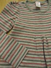 EUC GIRL GYMBOREE CLASSROOM KITTY GRAY STRIPED PLAY DAY DRESS OUTFIT 6