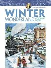 Winter Wonderland-Adult Coloring Book Holiday Christmes Gift Relaxing Activity