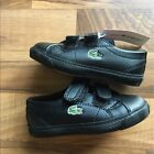 Lacoste Childrens Shoes Black Size 5