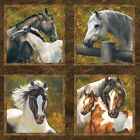 Sixty 3 1 2 inch Pictures Horses Wild and Free Northcott 24 in Panel