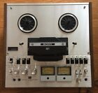 Sony TC 458 Reel to Reel Tape Deck MINT WORKING CONDITION AUTO REVERSE
