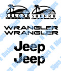 JEEP WRANGLER SAHARA FENDER DECAL KIT 2003 2006 TJ TLJ