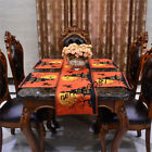 Halloween Witch Pumpkin Series Table Placemat Tablecloth Runner Party Decor New