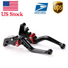 For Aprilia SHIVER/GT 750 (2007-2016) DORSODURO Short Brake Clutch Levers Black
