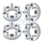 4pc 15 Wheel Spacers For Jeep JK Wrangler Rubicon Sahara Sport 5x5 with 1 2