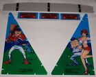 New! Williams Slugfest Baseball / Pinball Machine Plastic Set Free Shipping!