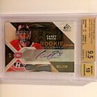 2007-08 SP Game Used Rookie Exclusives AU #RECP Carey Price 100 BGS 9.5 Auto 10