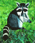 Wee racoon paper piecing quilt Pattern Silver Linings