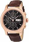 Tissot Men's Le Locle Black Dial Swiss Automatic Brown Leather Watch T41531751