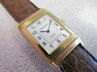 Jaeger Le Coultre   REVERSO   18k Gold Watch for Repair or Parts   NO RESERVE