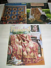 3 QUILTING QUILT PATTERN BOOKS SUNFLOWER PATCH WILD ABOUT FLOWERS FLORAL