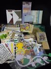 Large Lot of Scrapbooking Supplies Alphabet Stickers 90+ Die Cuts Frames Etc