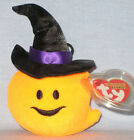 TY WITCHY the PUMPKIN HALLOWEENIE BEANIE BABY - MINT with MINT TAGS