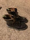 Womens Dr Martens The Original Air Wair Boots Size 7 With Bouncing Soles Nice