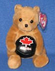 TY DEKE the CANADIAN EXCLUSIVE HOCKEY BEANIE BABY with MINT TAGS - PLEASE READ