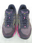 Mizuno Wave Ascend 6 Womens Grey and Pink Running Shoes US Size 8M