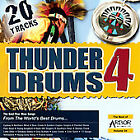 FREE US SHIP. on ANY 2 CDs! ~LikeNew CD Various Artists: Thunder Drums 4