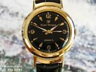1950' s Vintage GIRARD PERREGAUX Gyromatic, Stunning Black Dial, Serviced