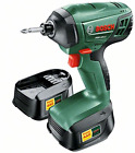 Bosch PDR 18 LI Cordless Impact Wrench with Two 18 V Lithium-Ion Batteries
