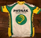 Phonak Vintage cycling Jersey by Descente Mens XL BMC Racing Switzerland