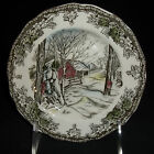 Johnson Brothers FRIENDLY VILLAGE Bread & Butter Plate Sugar Maple England Brown