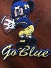 Michigan Wolverines iron on Patch vintage 35 X 3 Nice