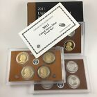 2011 S US 14 COIN PROOF SET WITH PRESIDENTIAL DOLLARS  PARK QUARTERS w COA