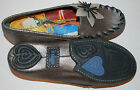New Womens Indigo by Clarks Shoes Loafers size 65 Flower Pewter