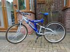 Challenge Sceptre Mens Bike 26 Wheels Blue and Silver Rugby Area