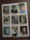 1978 DC Comics Superman Trading Card Complete 77 Card Set Incomplete Sticker Set