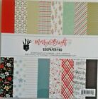 Fancy Pants Designs Merry And Bright 6x6 Paper Pad 60lb Cardstock